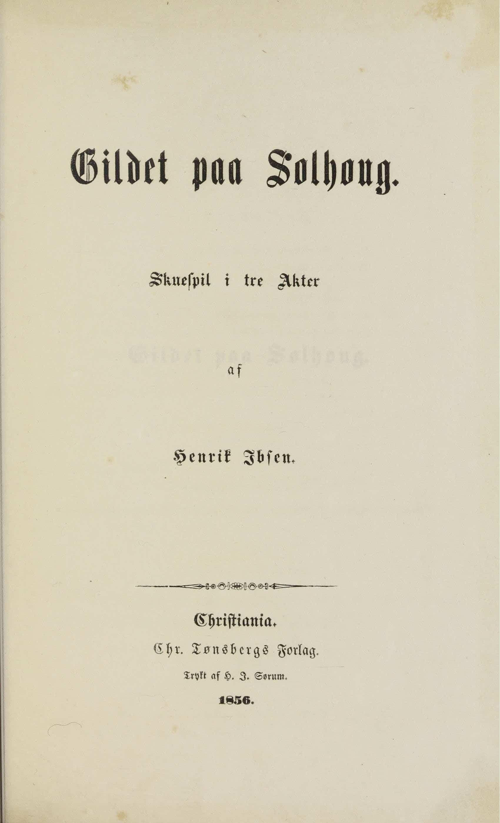 ερρικος-ίψεν-gildet-solhaug-first-page